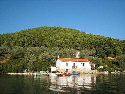 Une petite maison en Grèce