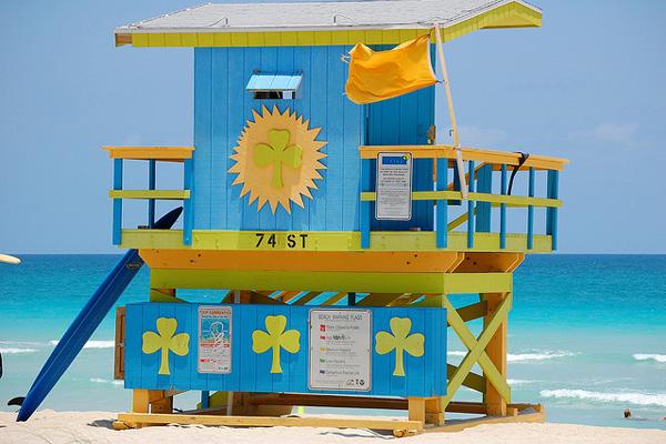La Floride aime les couleurs