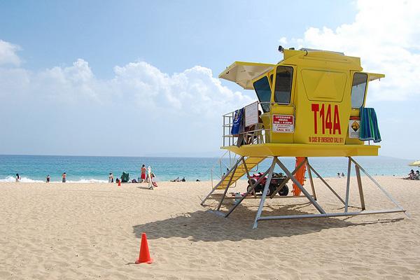 Une tour à Hawaï