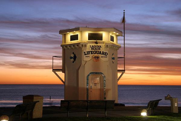 Une tour à Laguna Beach