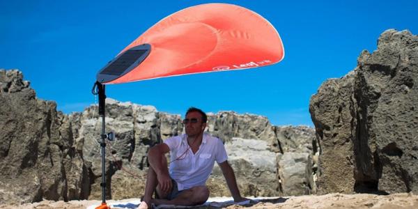 leaf for life le parasol de plage qui ne s envole plus. Black Bedroom Furniture Sets. Home Design Ideas