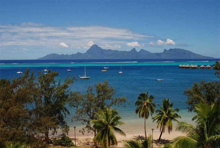 Plage de papeete photo de plage for Chambre 13 tahiti plage